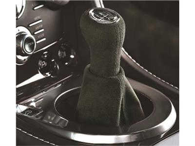 Alcantara Gear Knob with Carbon Trim
