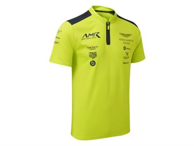 AMR Team Poloshirt Lime Green Men