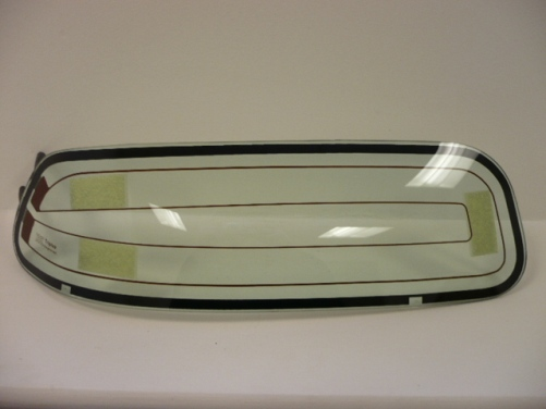 Headlamp Glazing RH Heated